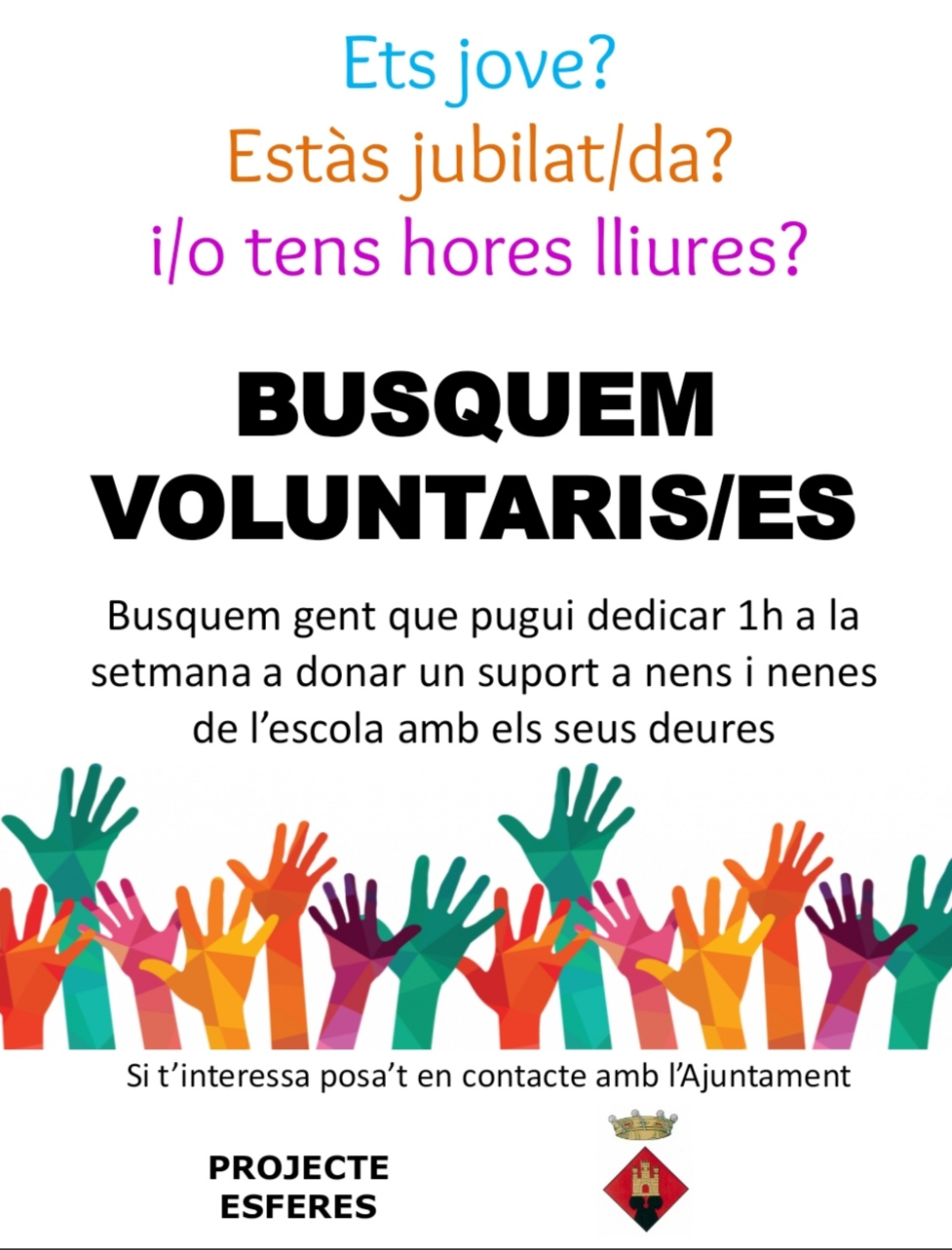 projecte esferes voluntaris